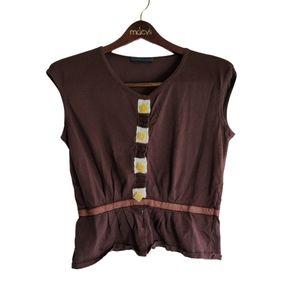 Alberta Feretti Women's Button Blouse